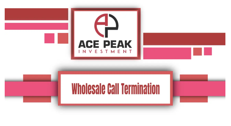 Wholesale Call Termination - Ace Peak Investment