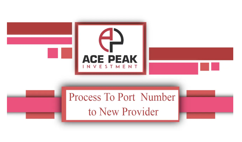 Process To Port Number to New Provider - Ace Peak Investment