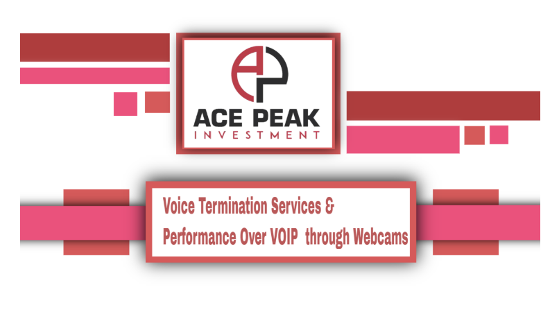 Voice Termination Services & Performance Over VOIP through Webcams