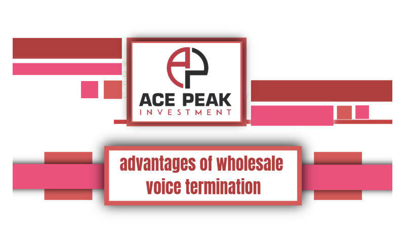 Many advantages of wholesale voice termination -Ace Peak Investment