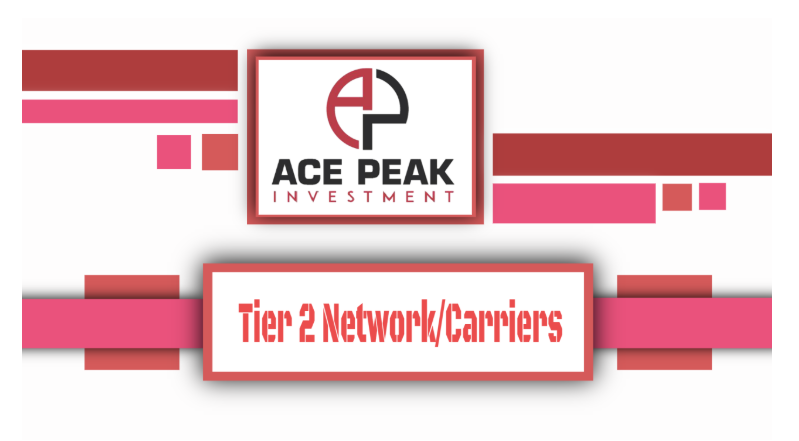 Tier 2 Network/Carriers - Ace Peak Investment